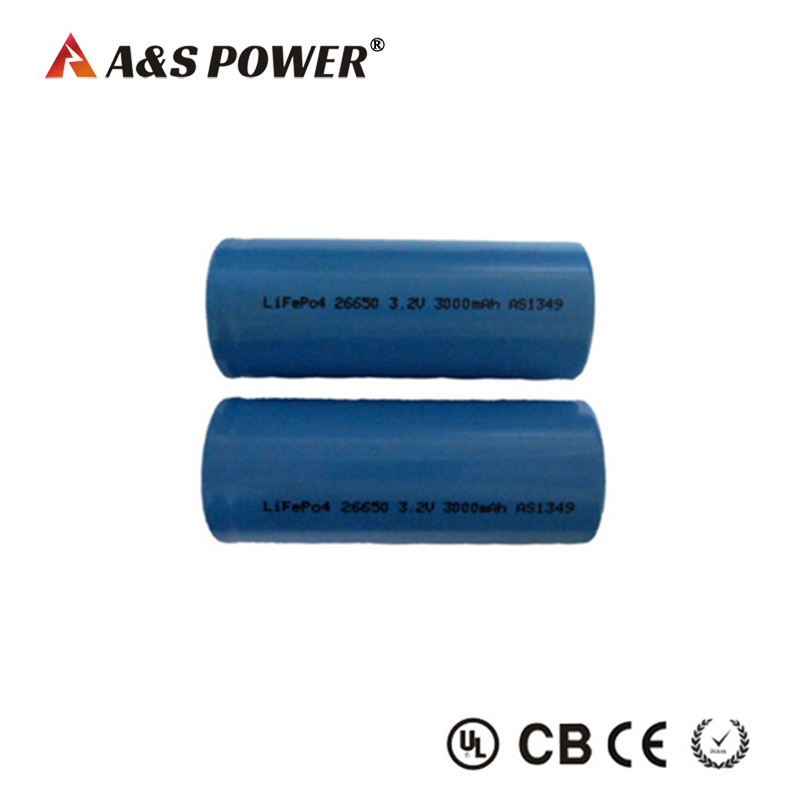 26650 3.2v 3000mah Lifepo4 Battery for power tools