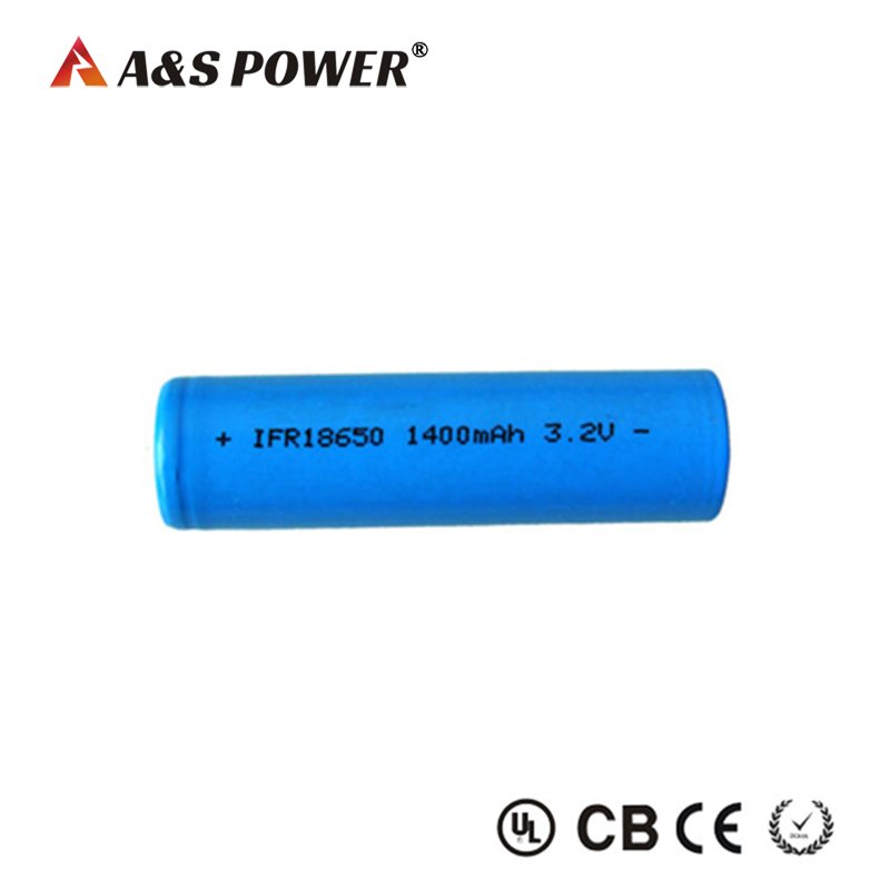 18650 3.2v 1400mah Lifepo4 Battery Cell