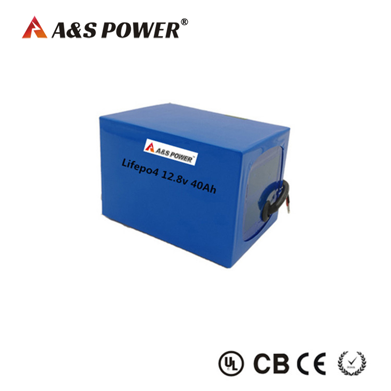 26650 12.8v 40Ah lifepo4 battery pack for solar street light