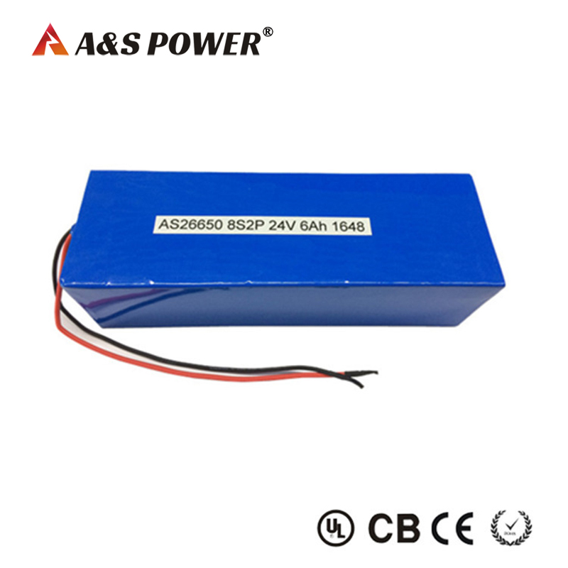 24v 6ah lifepo4 battery