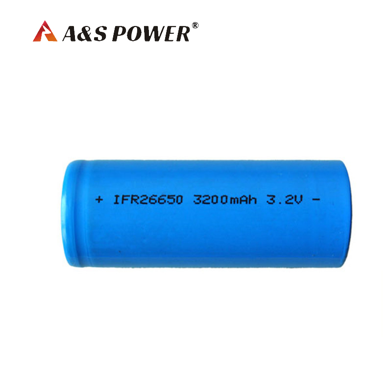 3.2V 3200mAh 26650 LiFePO4 battery