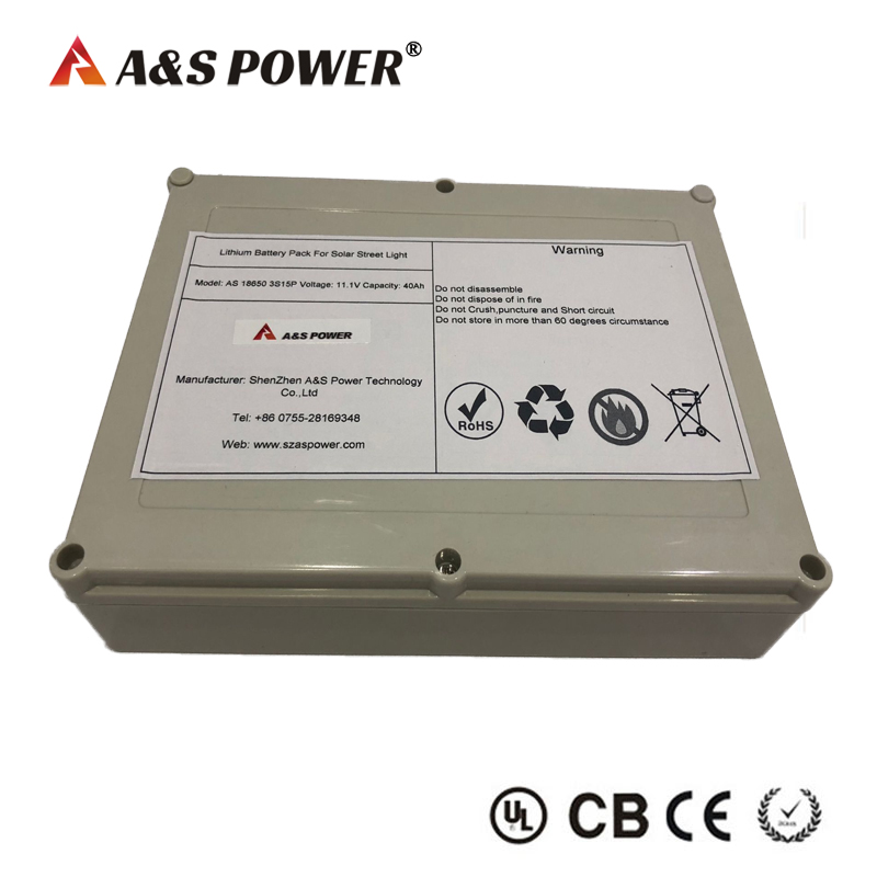 11.1v 40ah li-ion battery