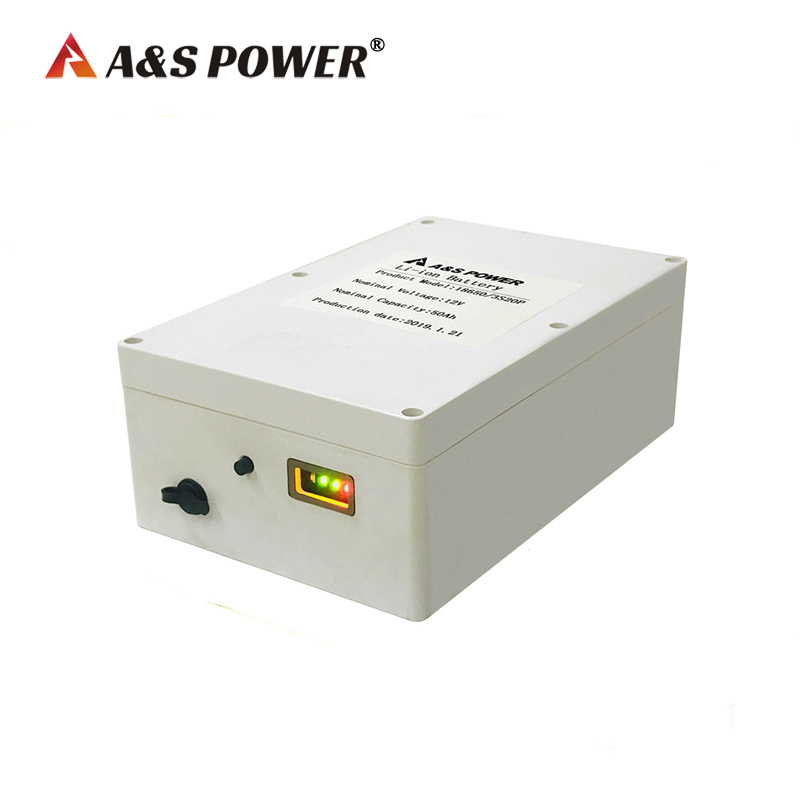 lithium ion battery 12v 50ah battery