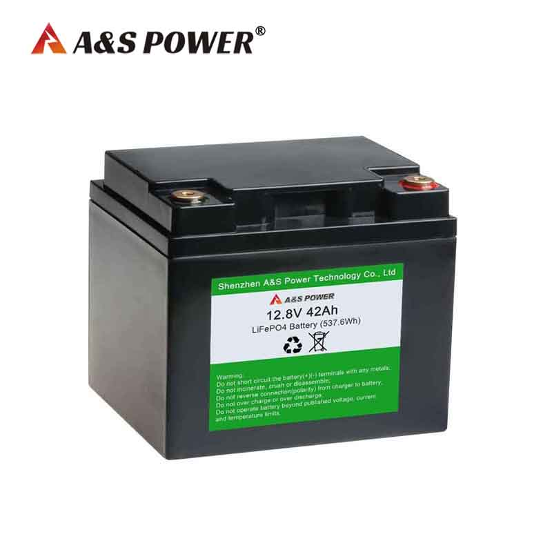32700 4S7P 12.8V 40AH 42AH lifepo4 battery pack with ABS case