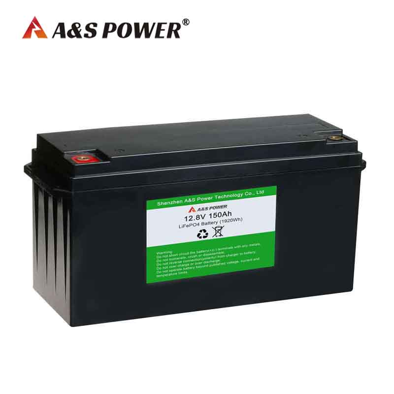32700 12.8v 150ah lifepo4 deep cycle battery