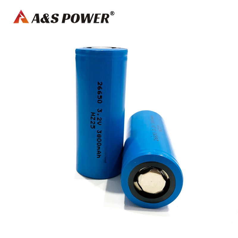 CB certified 26650 Lifepo4 Battery Cell 3.2V 3.8Ah LFP Battery cell