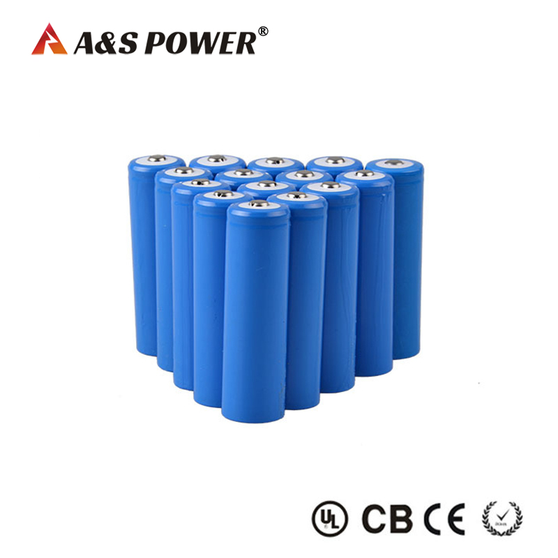 Rechargeable 3.7v 2200mah 18650 battery cell