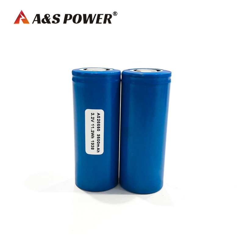 CB certified 26650 3.2V 3.5Ah 3500mah Lifepo4 Battery Cell