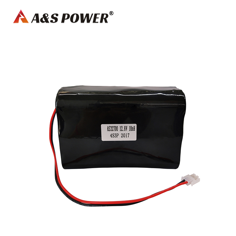 12.8v 18Ah LiFePO4 battery pack with CE certification